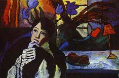 Wassily Kandinsky - Gabriele Munter