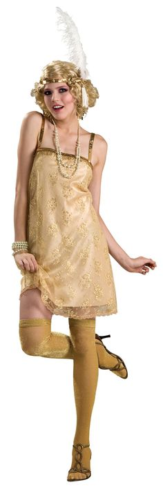 Gatsby Girl Flapper Costume - Flapper Costumes