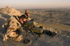 Vistas en afganistan.