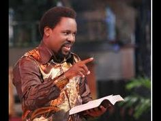 The Synagogue, Church Of All Nations (SCOAN) Pastor T. Joshua has been named as the 2015 'Yoruba Man Of The Year' by the 'Egbe Omo Oodua. Joshua Name, T B Joshua, Call Maybe, Emmanuel Tv, Glory To His Name, Pastor Chris, Nigerian Music Videos, Pleasing People