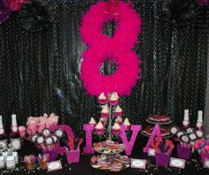Birthday Party Ideas & Hot Pink and Zebra Print Birthday Party Ideas | Pinterest | Diva ...