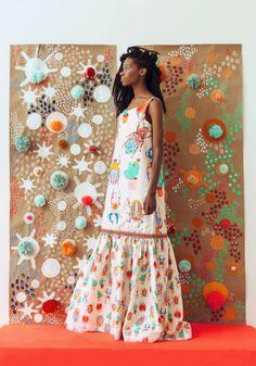 New embroidery fashion diy fabrics Ideas Fashion Line, Diy Fashion, Ideias Fashion, Fashion Dresses, Womens Fashion, Boho Fashion Summer, Boho Summer Dresses, Boho Dress, Hippie Fashion