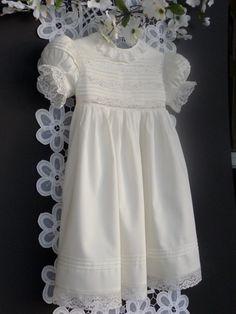 Handmade Girl's Heirloom Dress by justforbabyonetsy on Etsy, @Mendi McCormick for Raelin