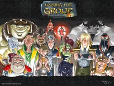 Looking For Group www.lfgcomic.com