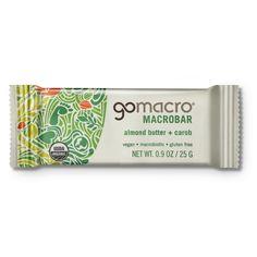 Snacks | VIVAIODAYS gomacro ALMOND BUTTER + CAROB MACROBAR MINI $1.30