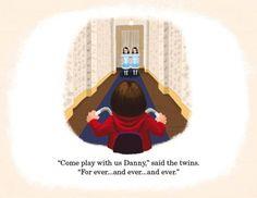 Artista da Pixar recria filmes clássicos como ilustrações de livros para crianças