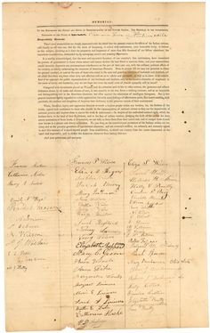 Story of the Band of American Women Who Tried to Stop Andrew Jackson's Native American Removal Policy  Primary Resource