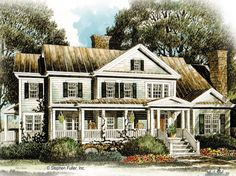 Camphill Country Style House Plans House Plans Cottage Floor Plans
