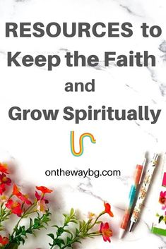 Here you can find resources to keep the faith and grow - helpful und inspiring printables and graphics and other resources to keep the faith. Daily Encouragement, Christian Encouragement, Christian Living, Christian Faith, Happy New Year Cards, Top Blogs, Keep The Faith, S Word, Spiritual Growth