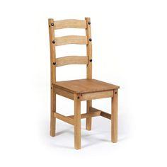 Corona Pine Dining Chair Pair   Furniture   The Range