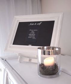 This would be cute with names/dates for the guestbook table.