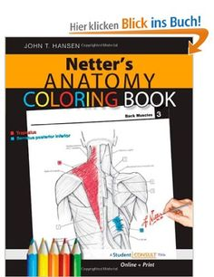 Netters Anatomy Coloring Book With Student Consult Access Netter Basic Science Amazon