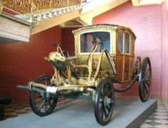A Berlin carriage of the 1760s. Moscow Historical Museum