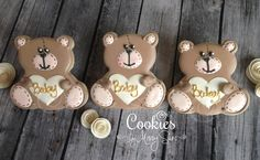 Teddy Bears | Cookies by Missy Sue | Cookie Connection