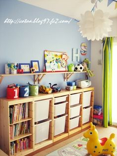 Excellent Pictures IKEA Trofast - kids toy storage, would be practical for random craft supplies, s. Tips An Ikea kids' space continues to amaze the kids, as they are provided a lot more than kids' spa Girl Room, Girls Bedroom, Baby Room, Bedroom Ideas, Ikea Toy Storage, Storage Ideas, Playroom Storage, Closet Storage, Bedroom Storage