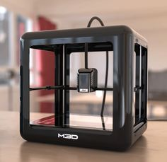 Remember the M3D Micro 3D printerfrom years ago? This machine has now  grown into the new M3D Pro model that just happens to be launched today.