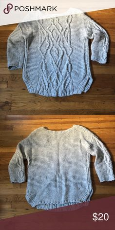 f693cf64528f Zara oversized sweater cream (large) Zara oversized sweater cream (large)  Zara Sweaters