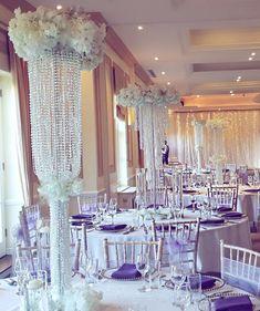 @theweddingdecorators.co.uk @palmtreescatering.com #reannemichelledecor  #venuestyling #woldinghamgolfclub When your customers love bling… Event Decor, Wedding Events, Chandelier, Bling, Ceiling Lights, Instagram, Home Decor, Candelabra, Jewel