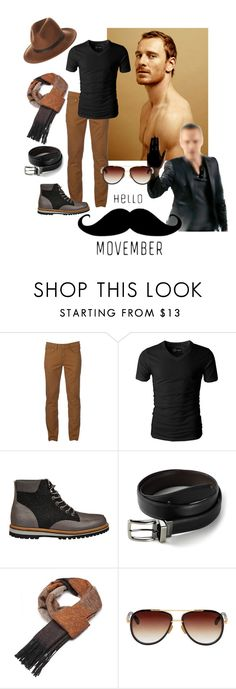 """""""Movember 👨🏻"""" by vanessaperez0413 ❤ liked on Polyvore featuring Urban Pipeline, Lacoste, Dockers, Dita, RHYTHM, men's fashion and menswear"""