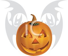 Royalty Free Clipart Image of a Pumpkin and Bat Background Free Clipart Images, Royalty Free Clipart, Royalty Free Images, A Pumpkin, Pumpkin Carving, Background Clipart, Halloween Clipart, Clip Art, Holidays