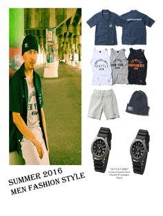 Men's Street Fashion, Summer 2016. Style Matching with Zerone Watch. #MenFashion #MenStyle #Designer #Outfits #Summer2016 #BackChannel #Zerone