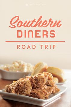 Get a taste of southern hospitality and cooking on this Southern Diners Road Trip.