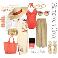 This outfit is just stunning. Coral is a colour that looks fabulous on so many women. It's a shame not more wear it. Congratulations on a truly fabulous look 'Lady of Style'. xx Glamorous Coral | Lady of Style