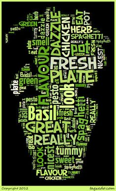 This is my new favourite website for creative aspects to a project... www.tagxedo.com