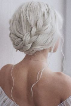 43 Cool Blonde Box Braids Hairstyles to Try - Hairstyles Trends Long White Hair, White Blonde Hair, Black Hair, Silver White Hair, Braided Crown Hairstyles, Wig Hairstyles, Updo Hairstyle, Hairstyle Ideas, Wedding Hairstyles For Long Hair