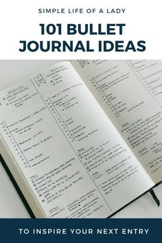 Ultimate List of Bullet Journal Ideas: 101 Inspiring Concepts to Try Today (Part - Simple Life of BuJo layouts to organize and plan every aspect of your life Bullet Journal Wishlist, List Of Bullet Journal Pages, Bullet Journal Banners, Bullet Journal Doodles, Bullet Journal Weekly Spread, Bullet Journal September, Bullet Journal Contents, Bullet Journal Hacks, Book Journal
