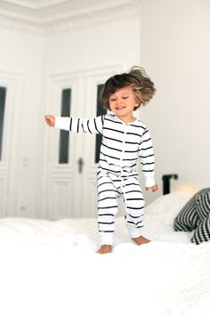 and I'm sure Mavin will be sporting the long hair just like his bros ;) But cute jammies