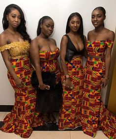 Hey Guys, We have selected some of the finest Kente styles that can fit your personality. Every one of us is a boss chic depending how we look at what we do. Kente fabrics are not new local fabric… African Attire, African Wear, African Women, African Dress, African Style, African Inspired Fashion, African Print Fashion, Africa Fashion, African Prints
