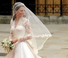 This is the type of veil we were talking about tonight.  This happens to be the most famous example of all time!