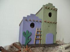 Southwestern Spanish Mexican Adobe Decorative Outdoor Bird