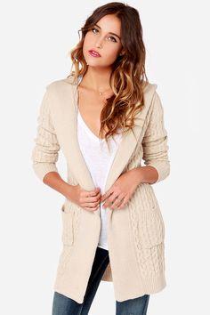 hooded sweater / lulu's