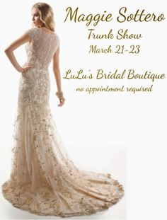 Spring Fever: Lazaro and Maggie Sottero Spring 2014 Trunk Shows