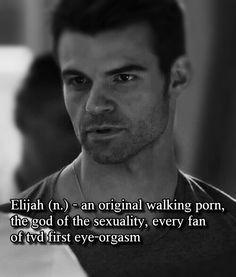 Elijah Mikaelson sexy hot