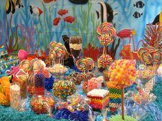 Candy Table  make backdrop