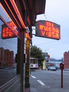 Buena Vista famous for an Irish Coffee in San Francisco
