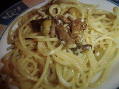PASTA :D ! Spaghetti, Pasta, Ethnic Recipes, Food, Chef Recipes, Cooking, Essen, Meals, Yemek