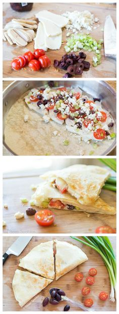#Greek Style #Quesadillas - the perfect #appetizer!