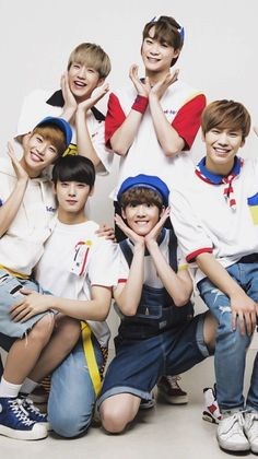 Astro. I wouldn't find a boy group just like them. They are so adorkable. 💕💕