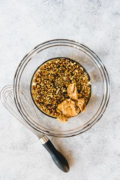 An image of a bowl with soy sauce, sesame oil, peanut butter, minced garlic, and grated ginger for making a ginger peanut Asian dressing for Asian slaw. Asian Slaw Salad, Asian Coleslaw, Coleslaw Mix, Coleslaw Recipes, Slaw Dressing, Peanut Dressing, Buttered Cabbage, Pork Sliders, Cabbage Slaw