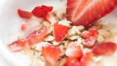 Placek z kaszy gryczanej - bez dodatku tłuszczu, czteroskładnikowy ⋆ AgaMaSmaka - żyj i jedz zdrowo! Cantaloupe, Salsa, Lunch Box, Vegan, Fruit, Cooking, Ethnic Recipes, Food, Fitness