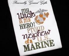 Nephew Quotes And Slogans Marine. QuotesGram Nephew Quotes And Slogans Marine. Nephew Quotes, Little Boy Quotes, Brother Birthday Quotes, Brother Sister Quotes, Marine Sister, Homecoming Posters, Military Love, Military Humor, Daughter Poems
