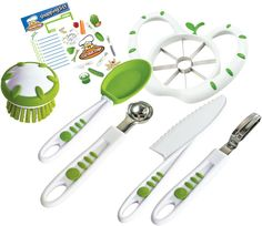 CURIOUS CHEF Curious Chef 6-pc. Fruit and Veggie Prep Kit