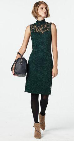 #fashion #dress #jurk #lace #kant #wehkamp #womenswear