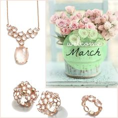 「 Spring is on the way  #spring #primavera #welcome #march #pink #ipanema #collection #rosegold #sweet #lovely 」