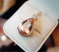 14 kt rose gold diamond and morganite pendant by fancyfacet stuff 14 kt rose gold diamond and morganite pendant by fancyfacet stuff to buy pinterest aloadofball Gallery