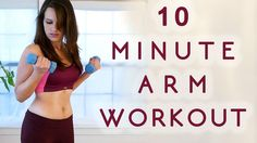 10 Minute Beginners Workout, Full Body Flexibility Stretches, At Home Stretching Routine Exercises   Join Tiffany for this fun flexibility workout! This video makes a great short workout on its own or a cool down to do after other workouts from this series. This video is a workout with flexibility exercises to improve your arm strength.
